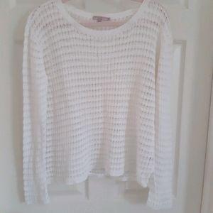 Calypso St Barth Linen Sweater M